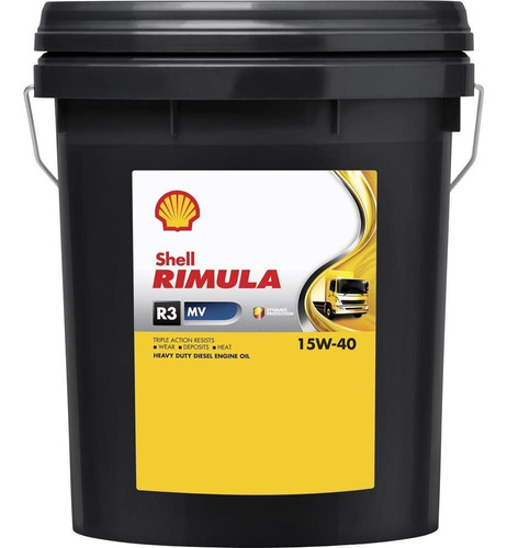 Imagen 1 de 2 de Aceite Motor Shell Rimula R3 15w40 Ci-4 20 Lts Shell