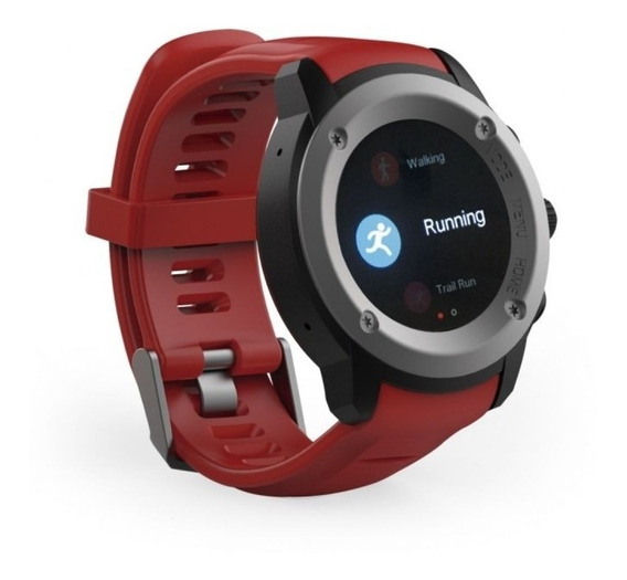 Smartwatch Ghia Draco Gac-072 Rojo/power Bank/1.3""