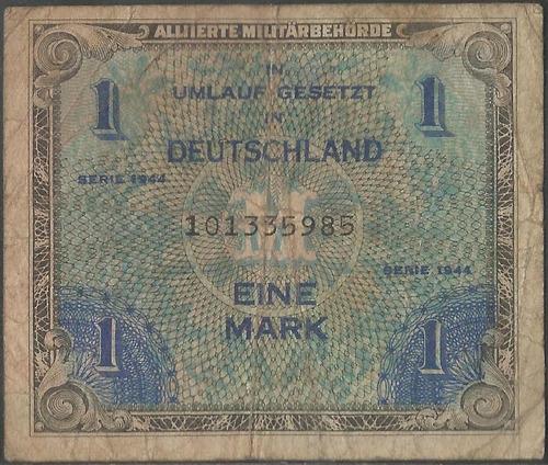 Alemania ( Ocupacion Aliada Wwii ), 1 Mark 1944 P192b