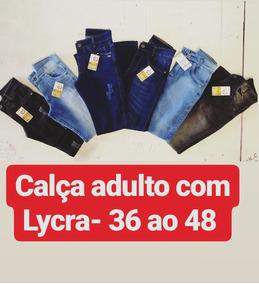 Moda Jeans Masculina E Feminina Adulto E Infantil