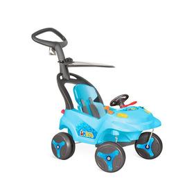 Carrinho Smart Baby Assento Reclinável Azul - Bandeirante -