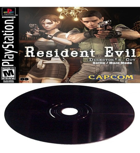 Resident Evil Ultimate Directors' Cut Battle / Maze Mode Ps1