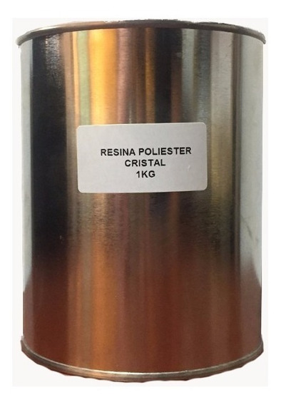 Resina Cristal Vidrio Liquido Poliester 1kg Artesania Oferta