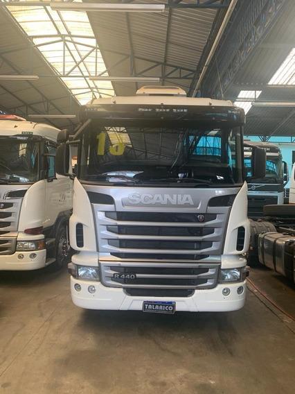 Caminhão Scania R-440 6x4 Ano 2013/13 Branca Nova
