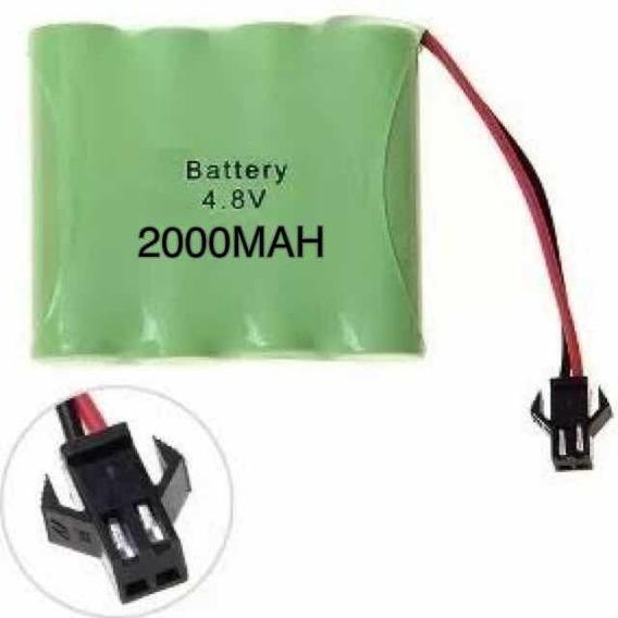 Bateria 4,8v 2000 Mah Conector Smp02 Aa