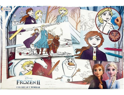 Set Colorear Y Borrar Disney Frozen 2 Tapimovil