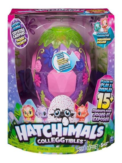 Hatchimals Colleggtibles Cena Secreta Cristal Canyon Hasbro