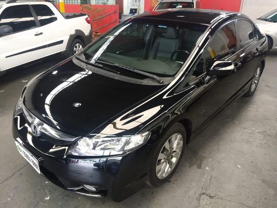 Civic Sedan Lxl Se 1.8 Flex Automatico 2011/2011 Preta Couro