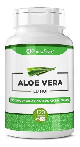 Aloe Vera Babosa Extrato Seco 120 Cápsulas De 500mg