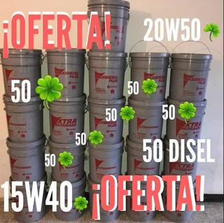 Paila De Aceite Diésel 50 Y Mineral 20w50 (caracas)55 Ver...