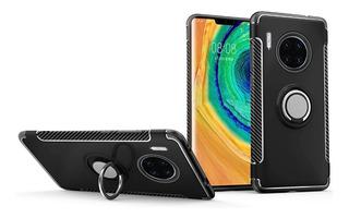 Funda Rígida Reforzada Anillo Ring Huawei Mate 30 Pro