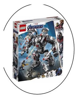 Lego Avengers End Game War Machine Buster 362pzs Y 4 Figuras