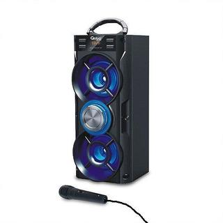 Parlante Bluetooth Premium Torre Doble Con 2 X 10w - Mic