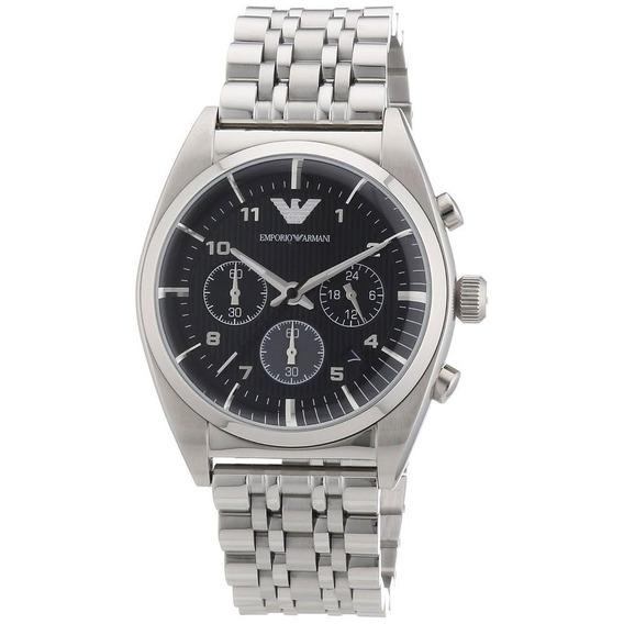 Reloj Análogo Marca Armani Modelo: Ar0373 Color Plata Para C