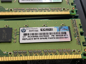 Memoria Ecc Udimm 4gb Pc3-12800e Hp Proliant Ml110 G7