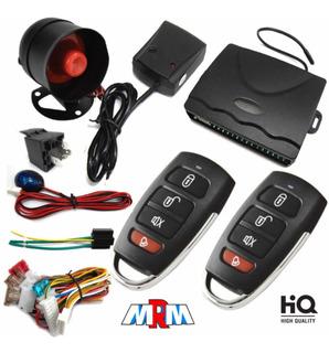 Alarma Kit Completo Carro Auto Barato Económico 2 Controles