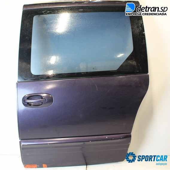 Porta Traseira Esquerda Grand Caravan 99 2000 01 2002 #144