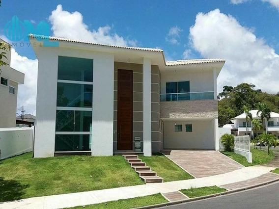 Casa Em Condomínio Fechado Alphaville Litoral Norte I À Venda! - N1077 - 32393297