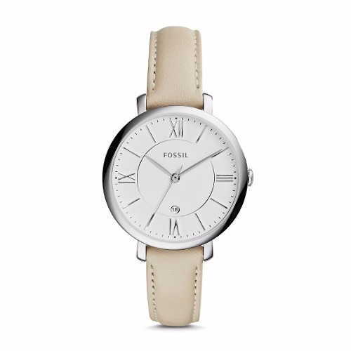 Reloj Fossil Es3793 Jacqueline Stainless Steel Para Mujer