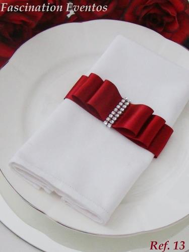 Porta Guardanapos Laco Chanel Com Strass 50 Pcs R 79 90 Em