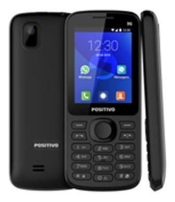 Celular Positivo P70 Preto Com Whatsapp E Facebook