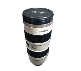 Copo Caneca Lente Branco Ef 70-200mm Câmera Digita