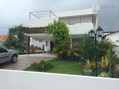 Casa Residencial À Venda, Altiplano Cabo Branco, João Pessoa - Ca0839. - Ca0839