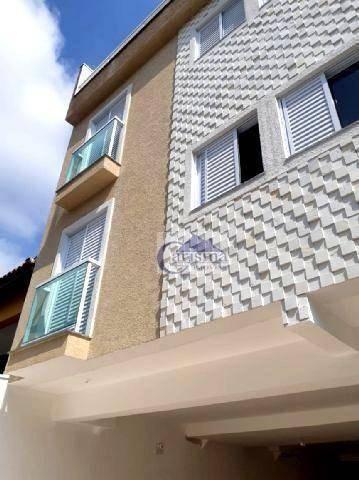 Apartamento Com 2 Dormitórios, Sendo 1 Suíte, À Venda, 50 M² Por R$ 270.000 - Vila Curuçá - Santo André/sp - Ap3735
