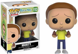 Funko Pop Morty Rick And Morty Número 113
