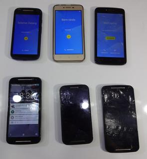 Lote Celulares Motorola (defeito Leia A Descrição)