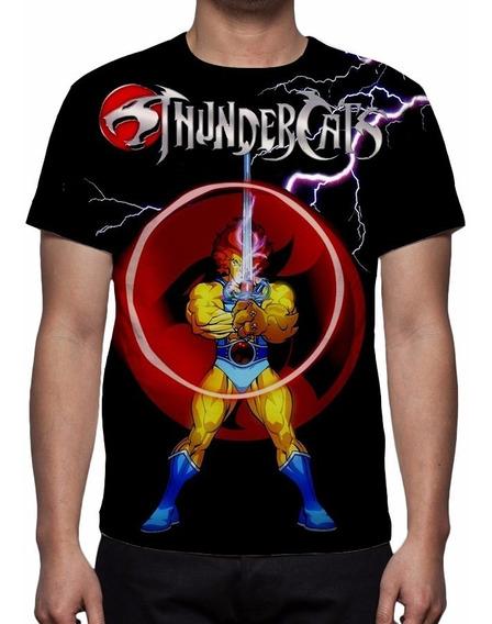 Camisa, Camiseta Thundercats Mod 03 - Estampa Total