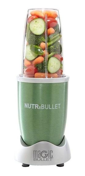 Nutribullet 600w 8 Accesorios Verde