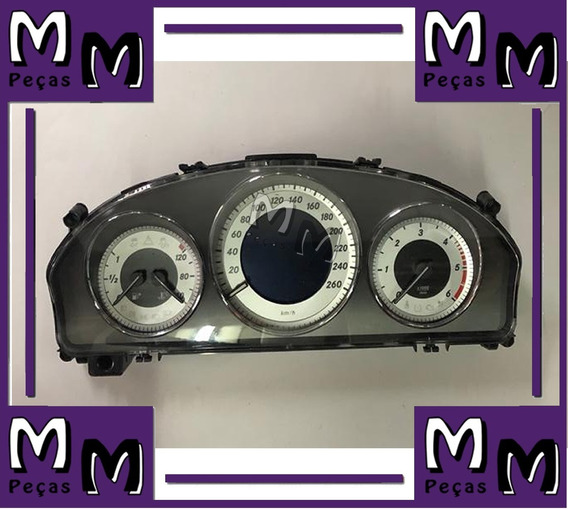 Painel Relógio Instrumentos Mercedes Glk 220 Cdi A2c37587700