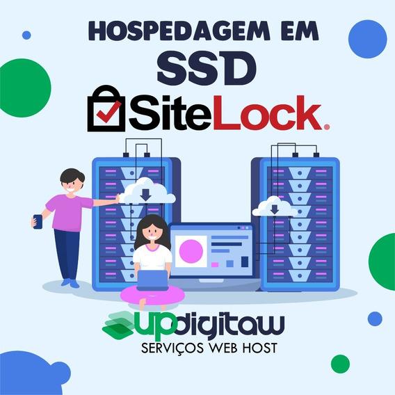 Hospedagem De Sites Ilimitada Ssd Com Selo Site Lock