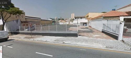 Terreno Para Alugar, 1310 M² Por R$ 14.000/mês - Santa Paula - São Caetano Do Sul/sp - Te0016