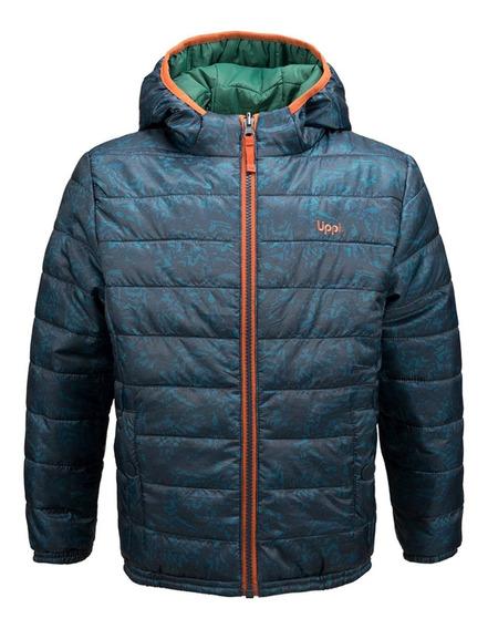 Chaqueta Niño Lippi Bewarm 2-face Hoody Jacket Grafito I19