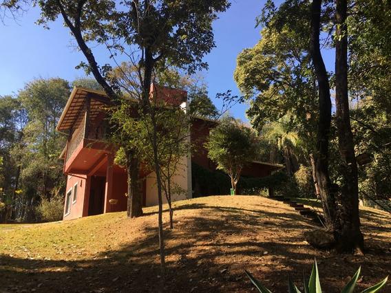 Casa Em Condomínio Com 4 Quartos Para Comprar No Condomínio Aldeia Da Cachoeira Das Pedras Em Brumadinho/mg - 1767