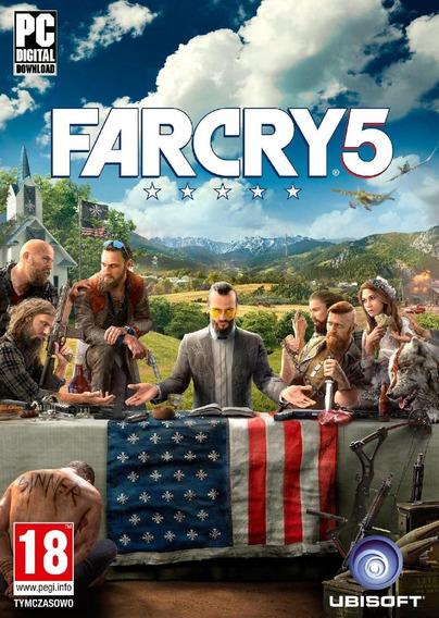 Far Cry 5 ( Mídia Física ) Pc - Dvd Frete Gratis