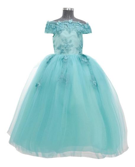 Vestido De Niña Elegante, Hermoso Modelo Camila