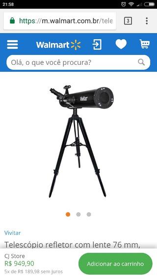 Telescópio Com Excelente Qualidade