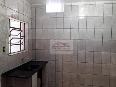 Casa Com 1 Dormitório Para Alugar, 45 M² Por R$ 650/mês - Ca0492