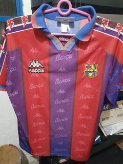 Camisa Original Barcelona 96 Kappa Ronaldo 9