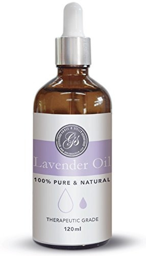 100% Pure & Natural Lavender Essential Oil (4oz) - Large - G