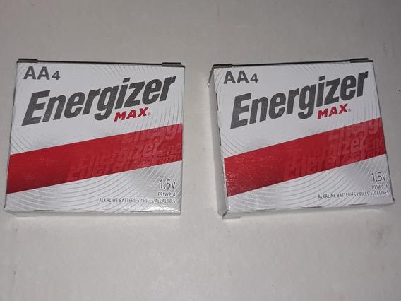 Pilas Energizer Max, Doble A (aa) X 4 Unidades