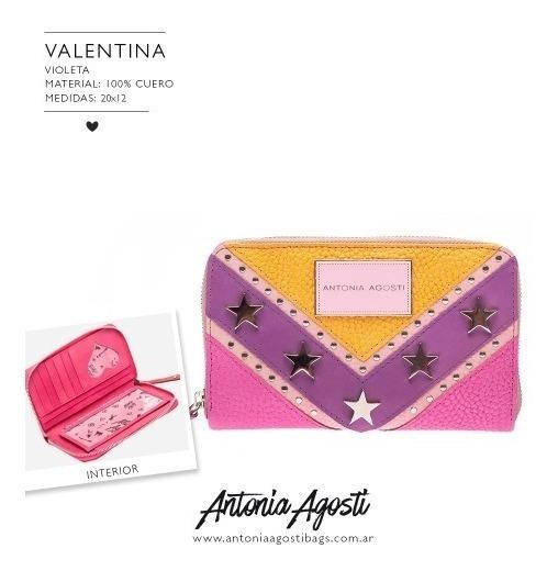 Billetera Valentina Antonia Agosti -/ Son Guapas