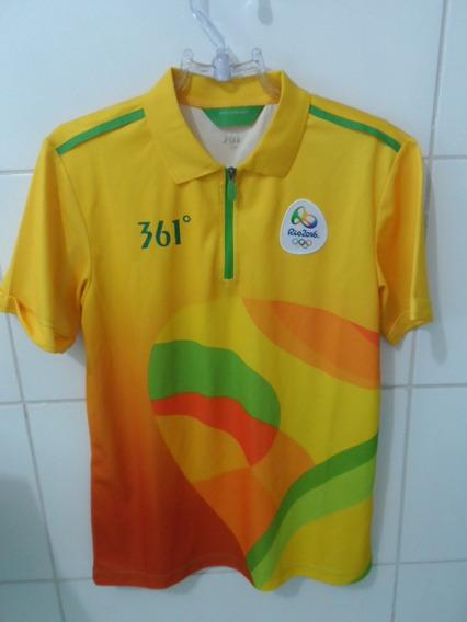 Camisa Brasil Olimpíadas Rio 2106