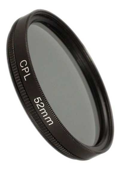 Filtro Cpl Polarizador Lente - Nikon Canon Sony - 52mm