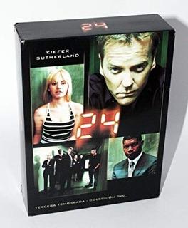 24 Horas Tercera Temporada Completa 7 Dvd Nuevo Cerrado