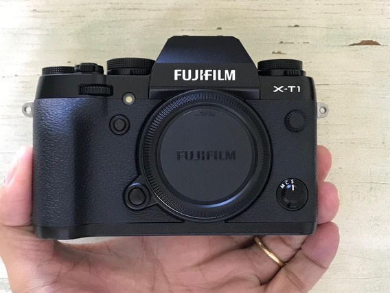 Fujifilm X-t1 Corpo Cor Preto (semi-nova) Lindona!