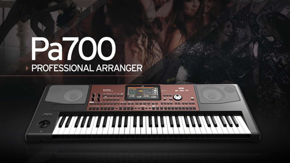 Piano Korg Pa 700 Nuevo Sellado